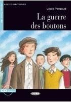 BLACK CAT - LA GUERRE DES BOUTONS + CD (A2) - Louis Pergaud, Adaptation de R. Hobart et S. Guilmault