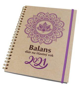 Balans diár na šťastný rok 2021 -