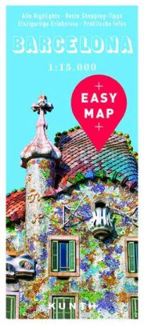 Barcelona - Easy Map 1:15 000 - neuveden