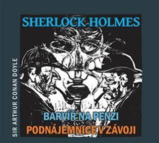 Sherlock Holmes: Barvíř na penzi, Podnájemnice v závoji - Arthur Conan Doyle,
