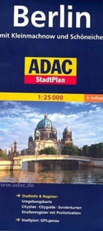 Berlín - plán města - neuveden