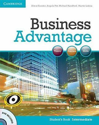 Business Advantage Intermediate Students Book with DVD - Kolektiv