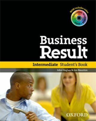 Business Result DVD Edition Intermediate Student´s Book + DVD-ROM Pack - Jon G. Hughes, John Naunton