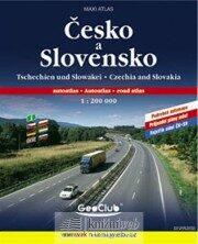 Česko + Slovensko atlas A4 1:200T spirála - kolektiv autorů