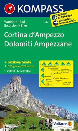 Cortina d´Ampezzo - Dolomiti  617    NKOM 1:25 - neuveden
