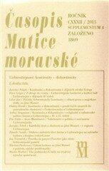 Časopis Matice moravské supplementum 4/2013 – Kontinuity – Diskontinuity - Tomáš Knoz, Peter Geiger