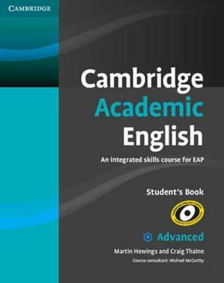 Cambridge Academic English C1 Advanced Students Book - Craig Thaine