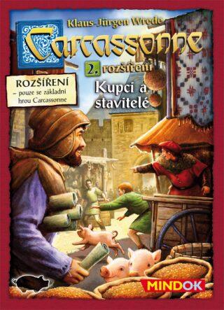 Mindok Carcassonne 2 edice Kupci a stavitelé