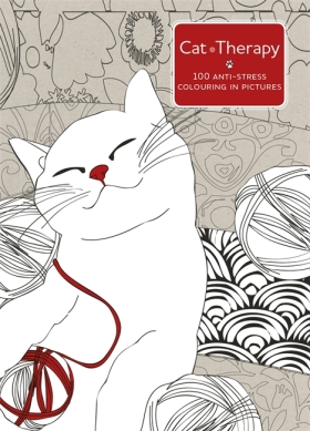 Cat Therapy: A Colouring Book for Adults - Charlotte Segond-Rabilloud