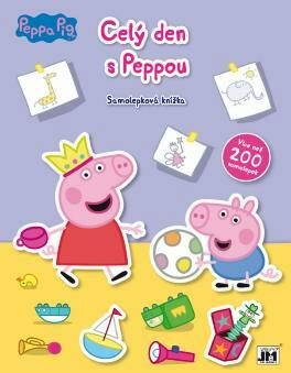 Cel� den s Peppou - Samolepkov� kn�?ka