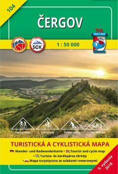 Čergov 1:50 000 -