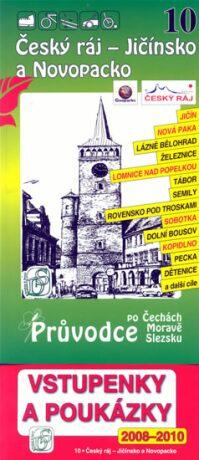 Český ráj - Jičínsko a Novopacko 10. - Průvodce po Č,M,S + volné vstupenky a poukázky - neuveden