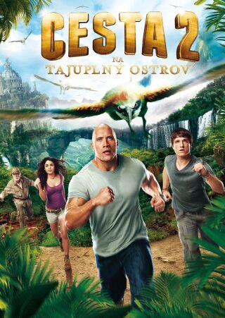 Cesta na tajuplný ostrov 2. - DVD
