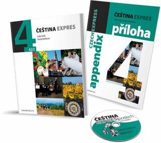 Čeština expres 4 (A2/2) - anglicky + CD - Lída Holá, Pavla Bořilová