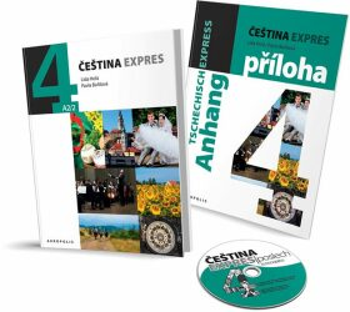Čeština expres 4 (A2/2) - německy + CD - Lída Holá, Pavla Bořilová