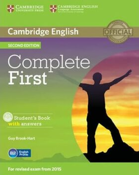 Complete First 2nd Edition Student´s Book with Answers with CD-ROM (2015 Exam Specification) - Guy Brook-Hart