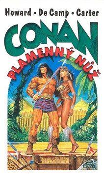 Conan Plamenný nůž - Robert E. Howard