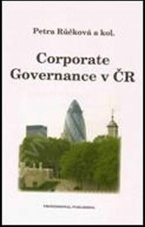 Corporate Governance v ČR - Petra Růčková