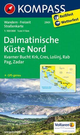 Dalmatinische Küste Nord  2901  NKOM - neuveden