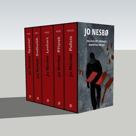 Jo Nesbo box 2 (6.-10. díl) - dárkový box (komplet) - Jo Nesbø