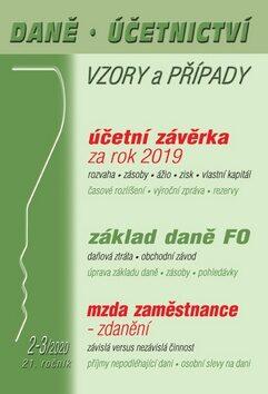 Daně Účetnictví Vzory a případy 2-3/2020 - Vladimír Hruška, Martin Děrgel, Eva Sedláková