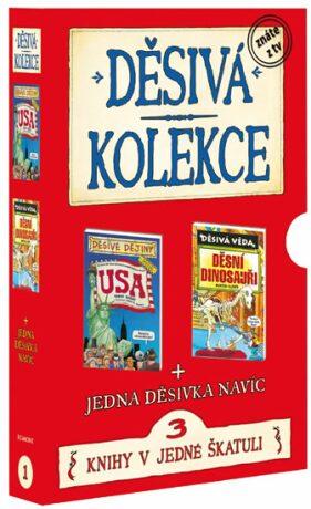 Děsivá kolekce 1 3 knihy v jedné škatuli - Scholastic