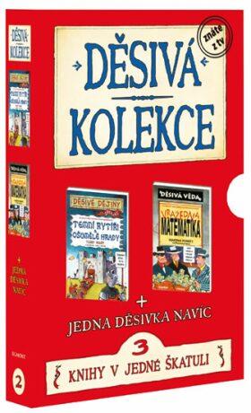 Děsivá kolekce 2 3 knihy v jedné škatuli - Scholastic