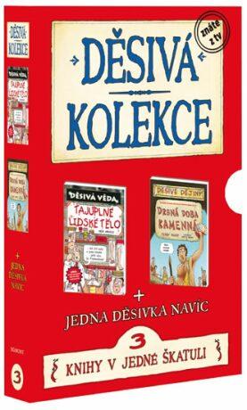 Děsivá kolekce 3 3 knihy v jedné škatuli - Scholastic