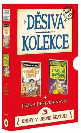 Děsivá kolekce 4 3 knihy v jedné škatuli - Scholastic