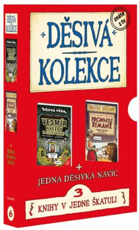 Děsivá kolekce 6 3 knihy v jedné škatuli - Scholastic
