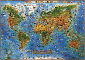 Mapy živočichů -