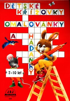 Dětské křížovky omalovánky a hádanky - Pavla Koníčková