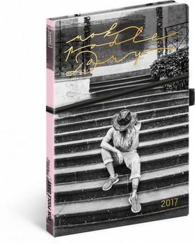 Diář 2017 týdenní Rok podle Dary - neuveden