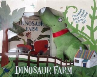 Dinosaur Farm Boxed Book, Plush Toy and Game - Frann Preston-Gannon