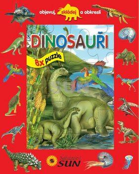 Dinosauři 8x puzzle -