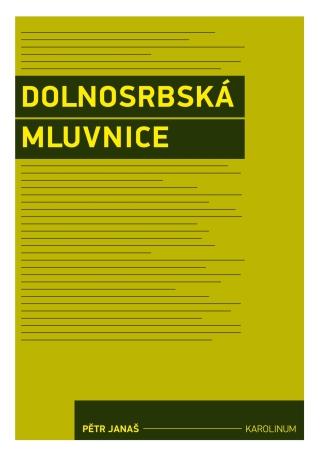 Dolnosrbská mluvnice - Pětr Janaš