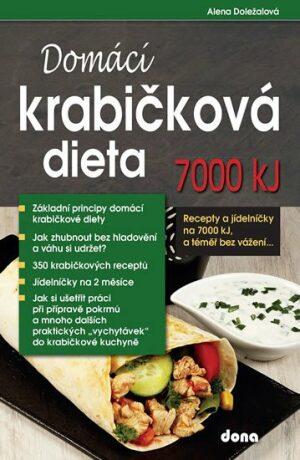 Domácí krabičková dieta 7000 kJ - Alena Doležalová