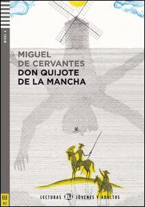 ELI - Š - Jóvenes y Adultos 4 -  Don Quijote de la Mancha + Downloadable Multimedia - Miguel de Cervantes y Saavedra