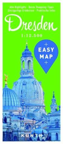 Drážďany - Easy Map 1:12 500 - neuveden