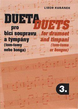 Dueta pro bicí soupravu a tympány / Duets for drumset 3 - Libor Kubánek