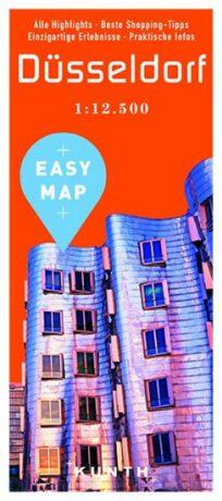 Düsseldorf - Easy Map 1:12 500 - neuveden