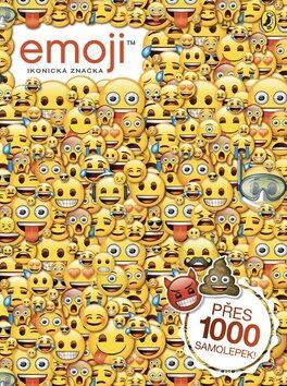 Emoji oficiální kniha samolepek - kolektiv