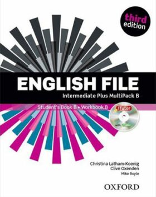 English File Intermediate Plus Multipack B with iTutor DVD-ROM (3rd) - Kolektiv