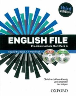 English File Pre-intermediate Multipack A with iTutor DVD-ROM (3rd) - Kolektiv