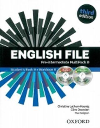 English File Pre-intermediate Multipack B with iTutor DVD-ROM (3rd) - Kolektiv