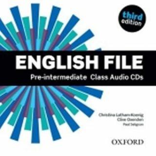 English File Pre-intermediate Class Audio CDs /4/ (3rd) - Kolektiv