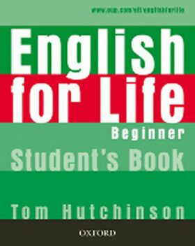 English for Life Beginner Student's Book - Hutchinson Tom