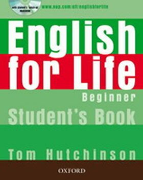 English for Life Beginner Student´s Book + Multi-ROM Pack - Tom Hutchinson