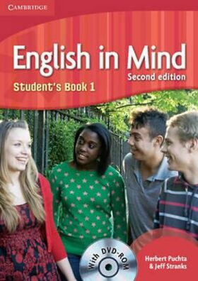 English in Mind Level 1 Students Book with DVD-ROM - Herbert Puchta, Jeff Stranks