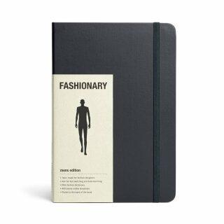 Fashionary: Mens A5 (sketchbook) -